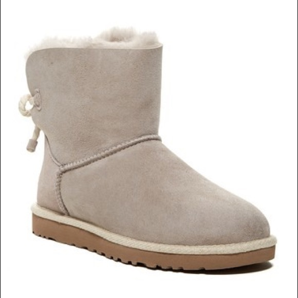 20247c20dc5 UGG Selene Oyster Colored Short Boot NWT